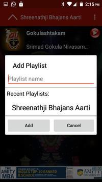 Shreenathji Bhajans Aarti screenshot 1