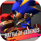 Super Heroes Blue Sonics Fight The Red Shadow Evil icon