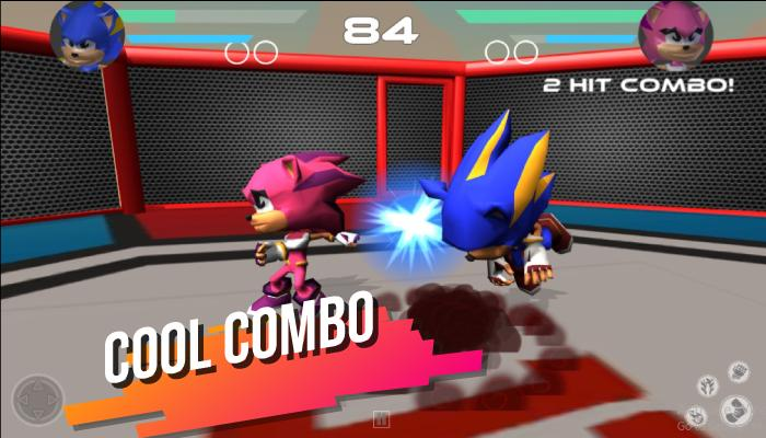 Super Heroes Blue Sonics Fight The Red Shadow Evil For Android Apk Download