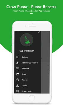 Clean Phone - Phone Booster screenshot 5