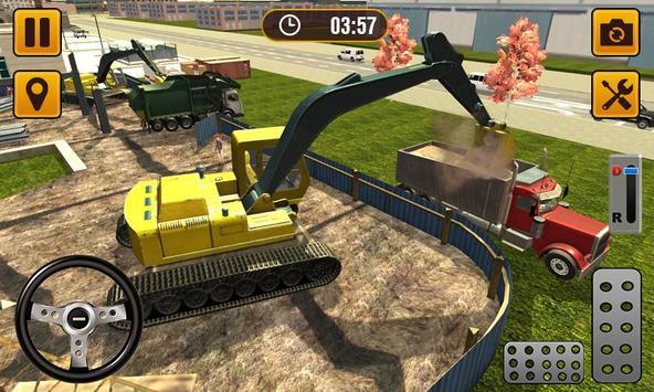 Excavator Construction Sim 2019 - City Building 3D screenshot 2