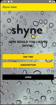 Shyne Valet poster