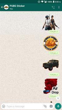 PUBG WhatsApp Sticker poster
