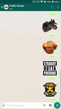 PUBG WhatsApp Sticker screenshot 2