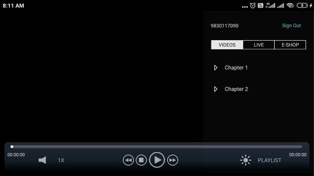 Dth Player screenshot 1