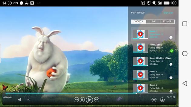 Dth Player screenshot 2