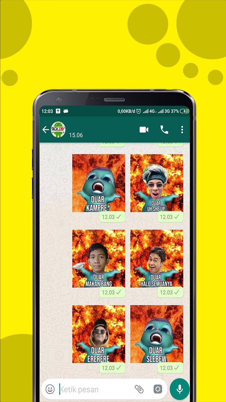 Stiker Wa Duar Meme For Android Apk Download