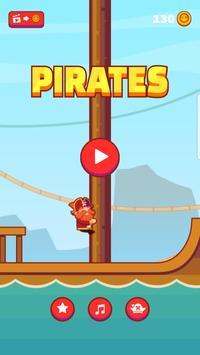 Climbing Pirates Cartaz
