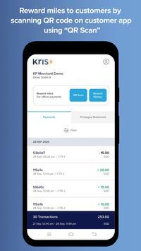 Kris+ Merchant SingaporeAir screenshot 1