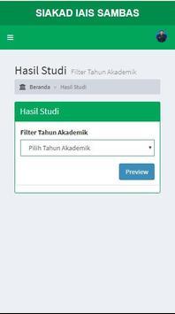 SIAKAD IAIS Sambas screenshot 3
