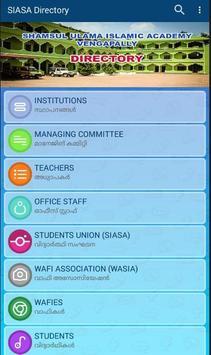 SIASA Directory poster