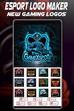 Logo Esport Maker | Create Gaming Logo Maker تصوير الشاشة 5