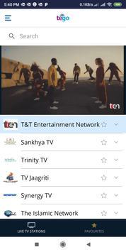 Tego TV screenshot 1