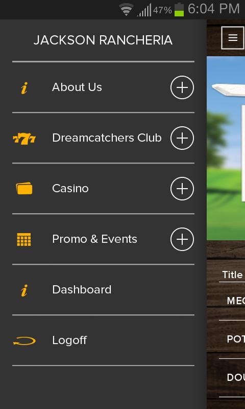 jackson rancheria casino dream catchers club