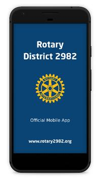 Rotary 2982 poster