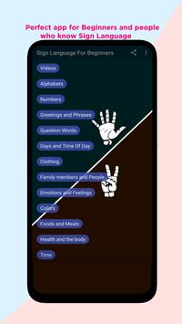Sign Language for Beginners poster