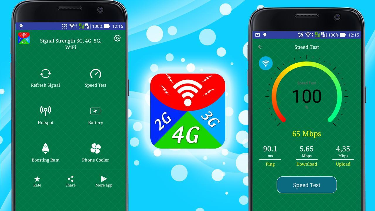 Signal Strength 3G, 4G, 5G, WiFi for Android - APK Download