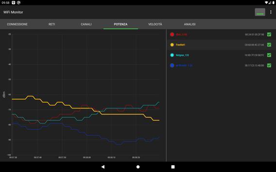 11 Schermata WiFi Monitor