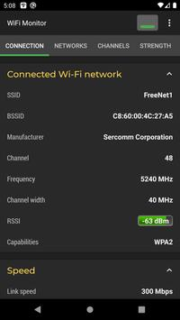 WiFi Monitor poster