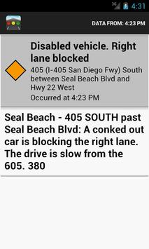Sigalert - Traffic Reports screenshot 2
