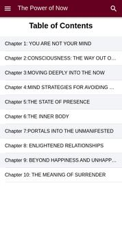The Power of Now By Eckhart Tolle screenshot 1