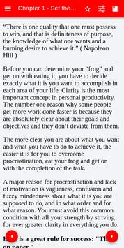 Eat That Frog By Brian Tracy screenshot 1