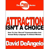 Attraction Isn't A Choice by David DeAngelo icon