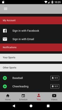 OUAZ Athletics screenshot 2