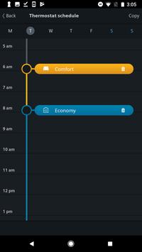 Siemens Smart Thermostat RDS screenshot 2