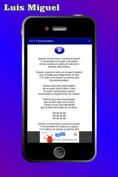 Luis Miguel Musica 2019 스크린샷 2