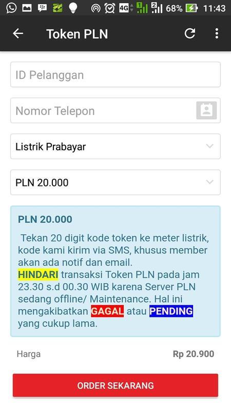 ... PLN soal pulsa listrik Rp 100.000 dapatnya Rp 73.000. Source · SIKIMO screenshot 3 .