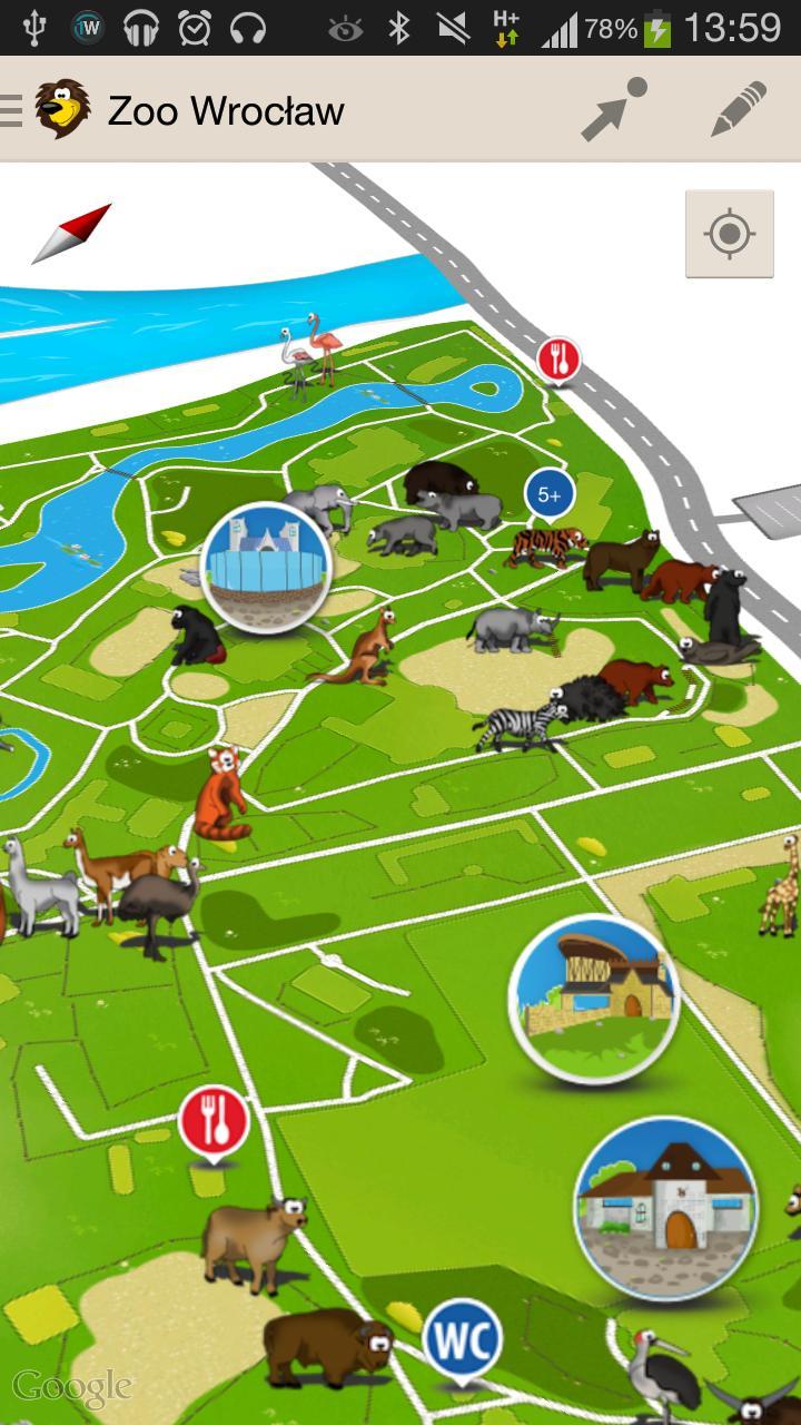 Zoo Wroclaw Mapa安卓下載 安卓版apk 免費下載