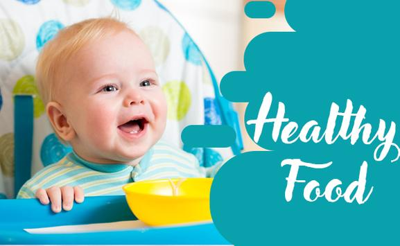 Easy and Healthy Baby Food Recipes For 6 - 12 poster