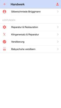 silberschmiede brüggmann screenshot 2
