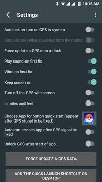 GPS Locker screenshot 1