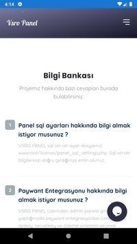 VSRO PANEL screenshot 2