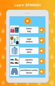 Learn Spanish Language: Listen, Speak, Read screenshot 6