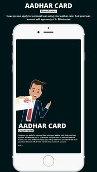 How to Download Adhaar Card poster
