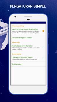 Simolex Bokep VPN - Vpn Gratis Tanpa Batas screenshot 4