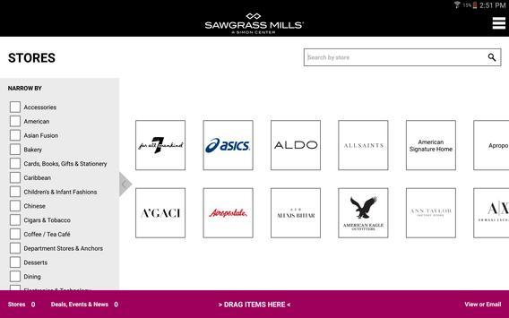 SIMON - Malls, Mills & Outlets screenshot 10