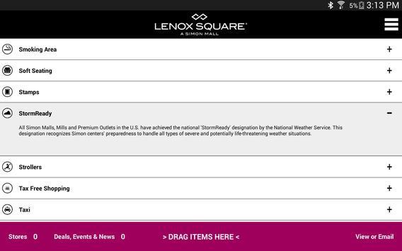 SIMON - Malls, Mills & Outlets screenshot 18