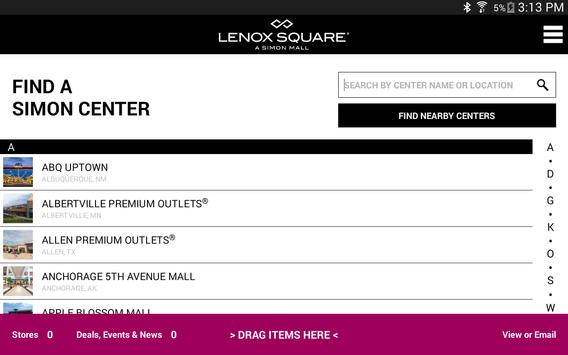 SIMON - Malls, Mills & Outlets screenshot 19