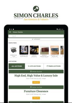 Simon Charles Auctions screenshot 5