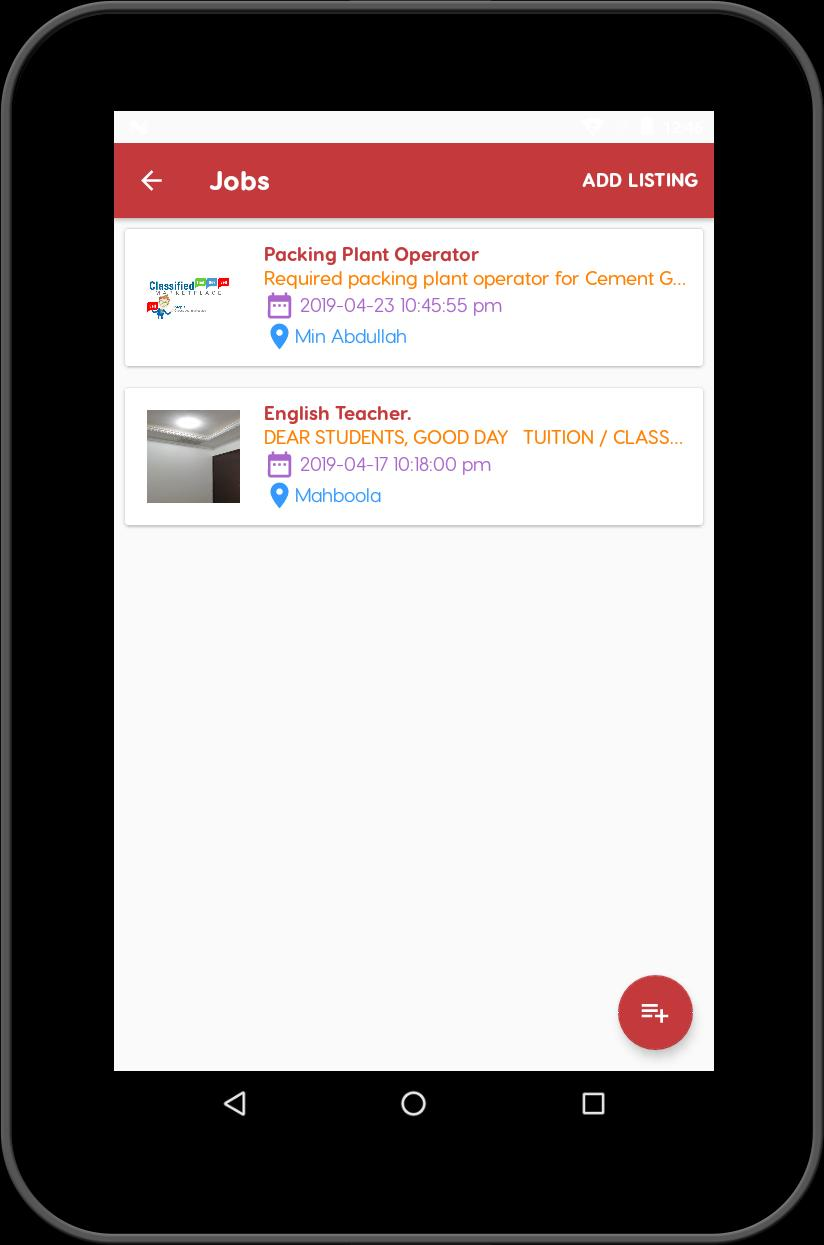 Kuwait Classifieds cho Android - Tải về APK