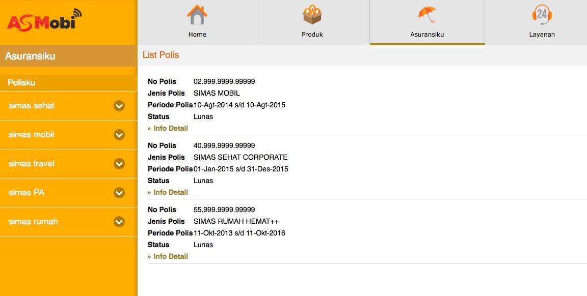 Asuransi Sinar Mas Online for Android - APK Download