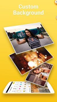 ЭмодзиКлавиатура Facemoji-клавиатура темы&стикеры постер