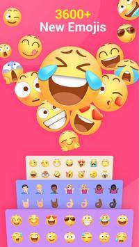 ЭмодзиКлавиатура Facemoji-клавиатура темы&стикеры скриншот 1