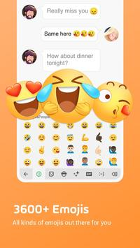 Facemoji Emoji Keyboard:Fonts,Emoji,Keyboard Theme screenshot 1