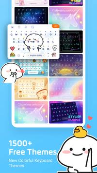 3 Schermata Facemoji Emoji Keyboard:Emoji Keyboard,Theme,Font
