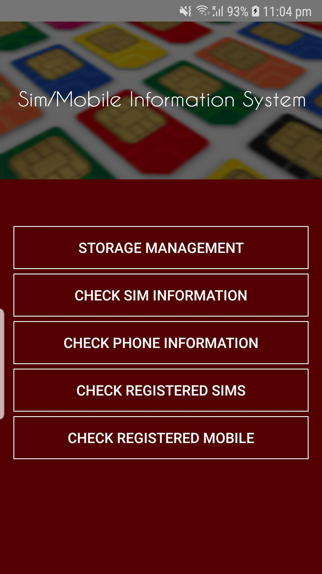 Pakistan Sim Information for Android - APK Download